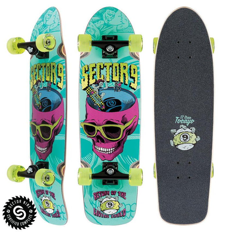 "Sector 9 - Return Of Shred Complete 30.5"" x 8.625"""