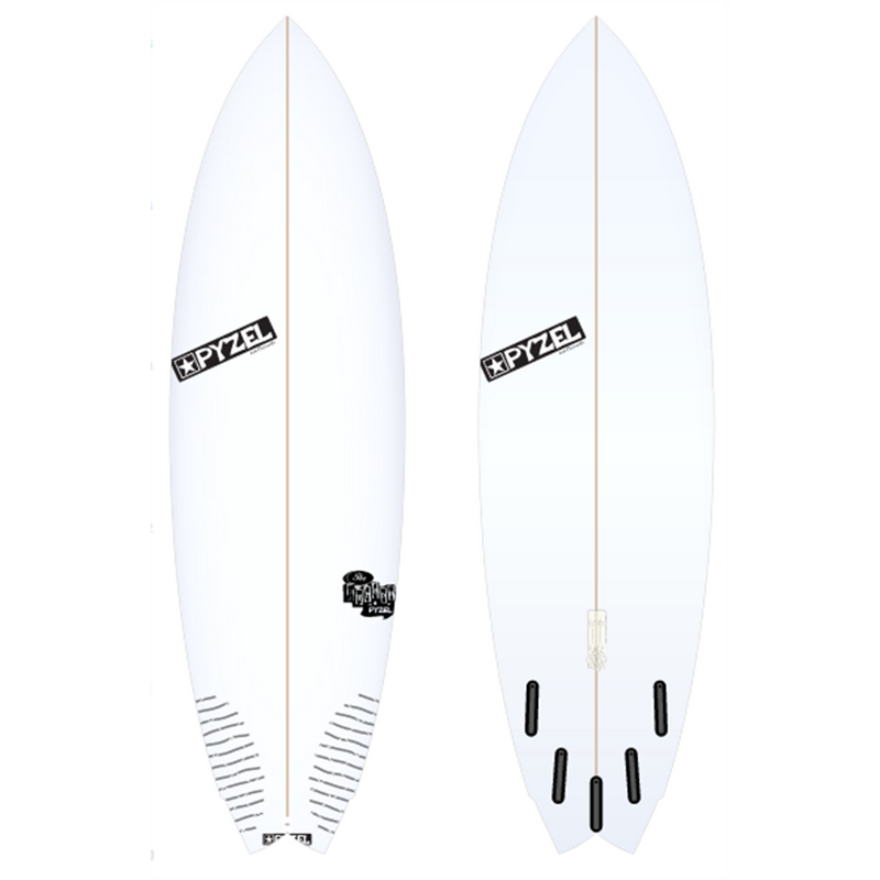 "Pyzel - The Nugget (5'8"" - 20 - 2 1/2 - 31.00 L) 3Fin"