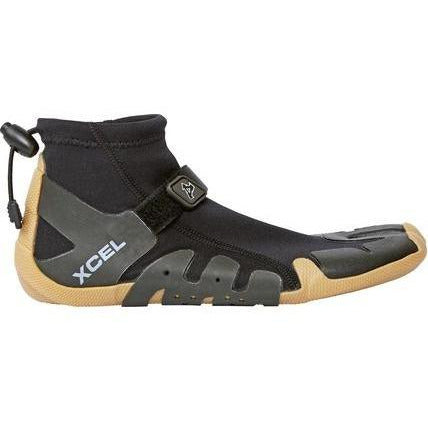 Xcel - 1mm Infiniti Split Toe Reef Boot (Black/Gum)