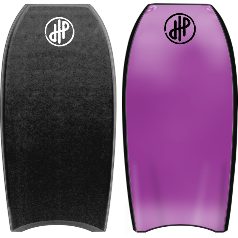 "HandPicked - 40"" Bodyboard (Black/Purple)"