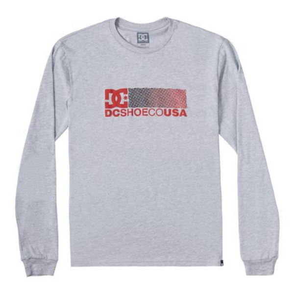 DC - Break Bounce Tee (Heather Grey)