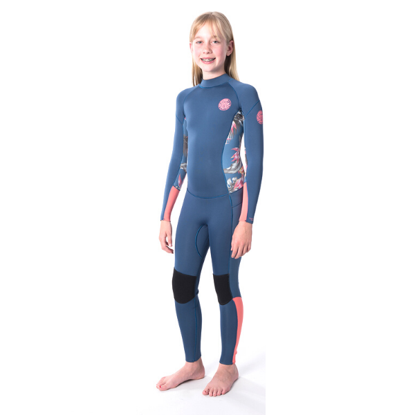 Rip Curl - Junior Girls Dawn Patrol 4/3 Back Zip