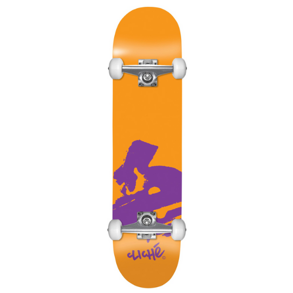"Cliche - Europe Orange 7.875"" complete (Orange/Purple)"