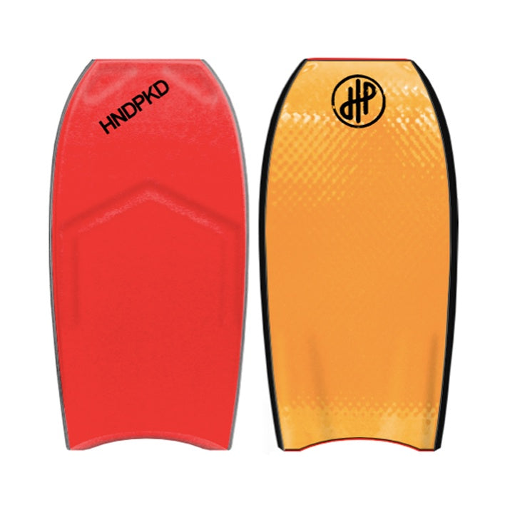 "HandPicked - 41.5"" Bodyboard (Red/Orange)"