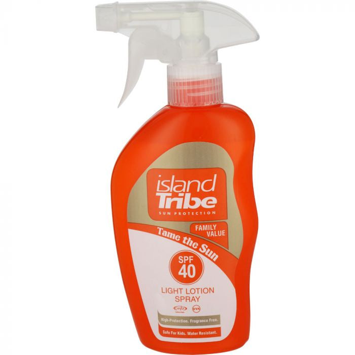Island Tribe - SPF40 Light Lotion Trigger Spray 300ml