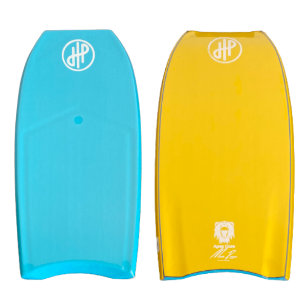 "HandPicked - 41"" Bodyboard Slot Contours (Blue/Yellow)"