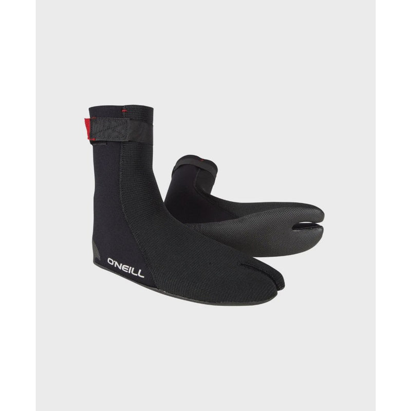O'Neill - Heat Ninja 3mm Split Toe Booties (Black)