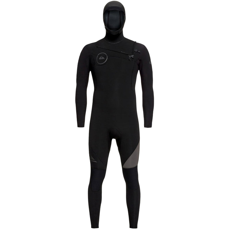 Quiksilver - 5/4/3mm Syncro Series Hooded Chest Zip GBS Wetsuit
