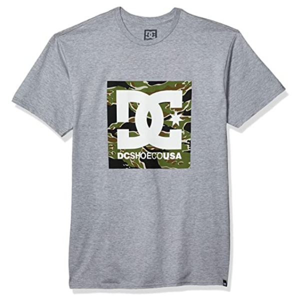 DC - Camo Star Tee (Heather Grey)