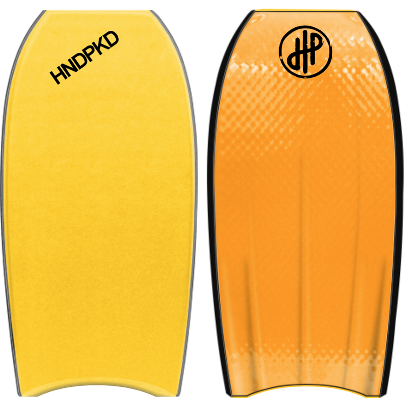 "HandPicked - 42"" Bodyboard (Yellow/Black/Orange)"