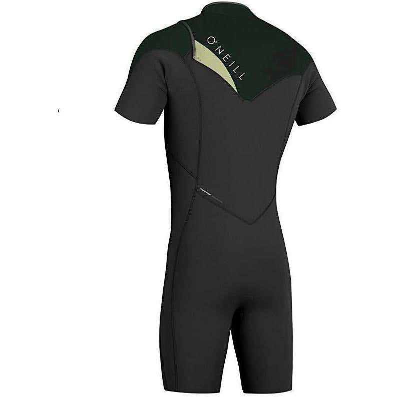 O'Neill - Hyperfreak Fuze 2mm SS Spring Suit (Black/Black/Lime)