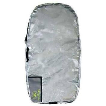 Hurricane - Polyprop Padded Bodyboard Cover (Silver/Grey)