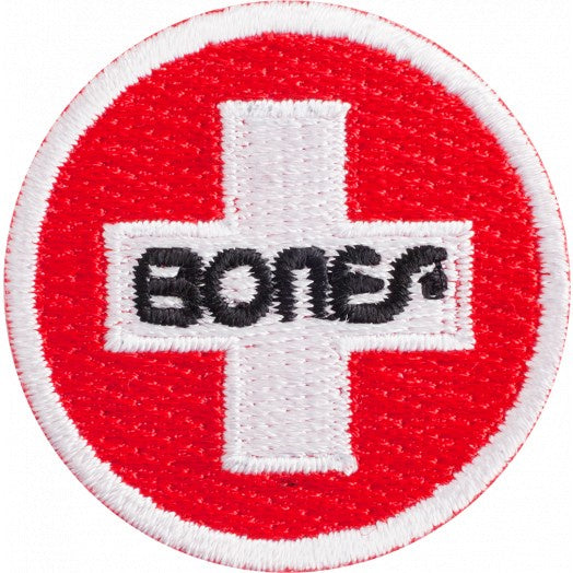 "Bones - Swiss Circle 1.5"" Patch"
