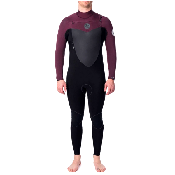 Rip Curl - Flash Bomb 4/3 C/Z Steamer (Maroon)
