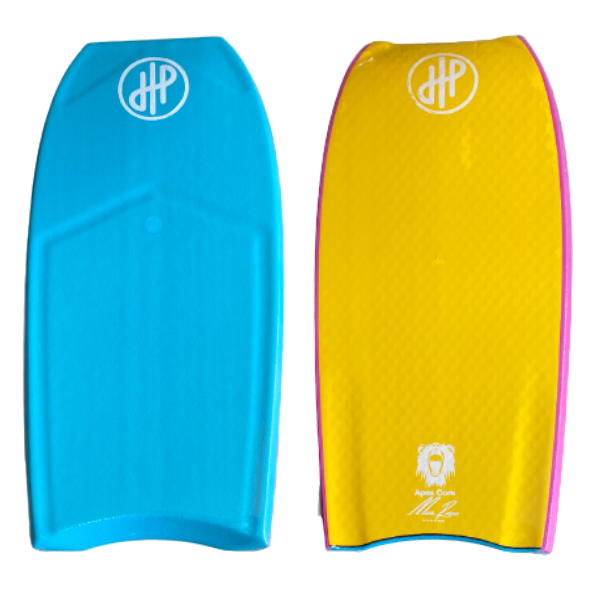 "HandPicked - 40"" Bodyboard Half Contours (Blue/Yellow/Pink)"