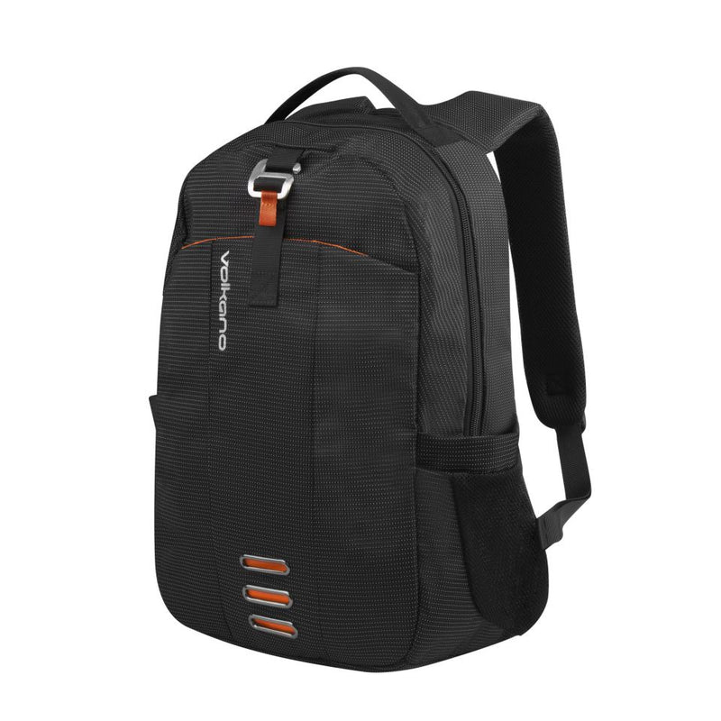 Volkano - Longitude Laptop Backpack (Black/Orange)