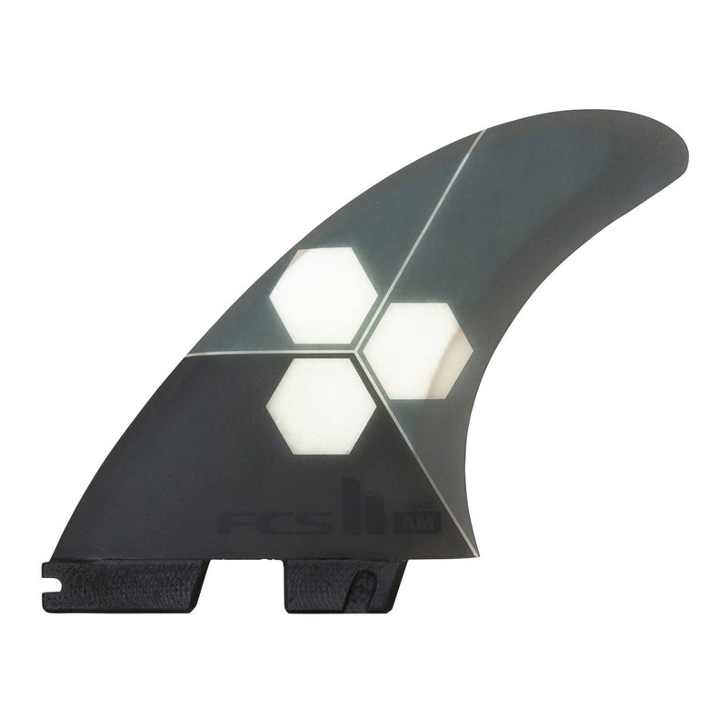 FCS II - AM PC Large Tri Fins (Grey)