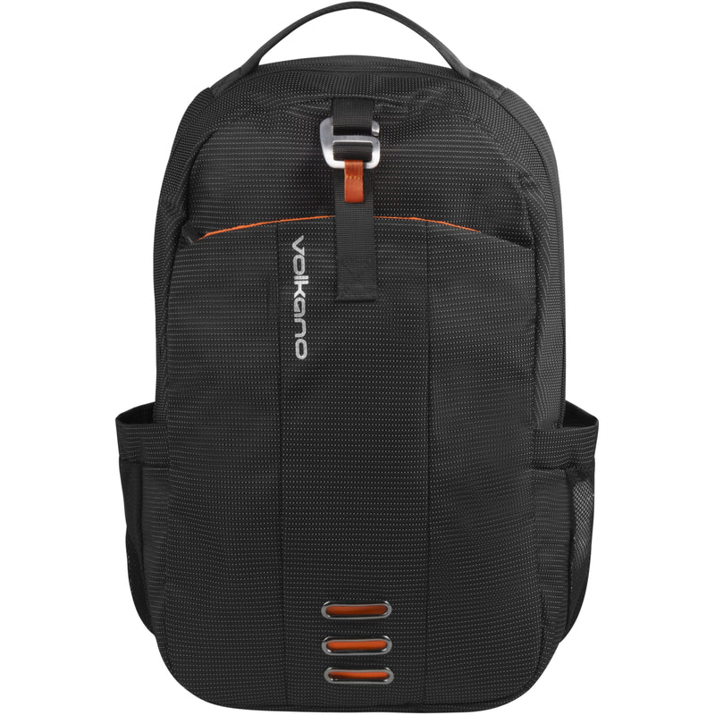 Volkano - Latitude Laptop Backpack (Black/Orange)