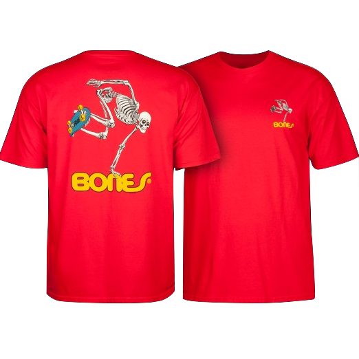 Powell Peralta - Skateboard Skull Tee (Red)