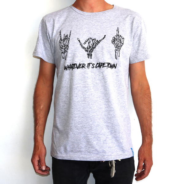 Boardhub - Whatever Its Cape Town Tee (Grey)