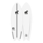 5'8'' Vampire Twin Soft Top Surfboard - 32,5L