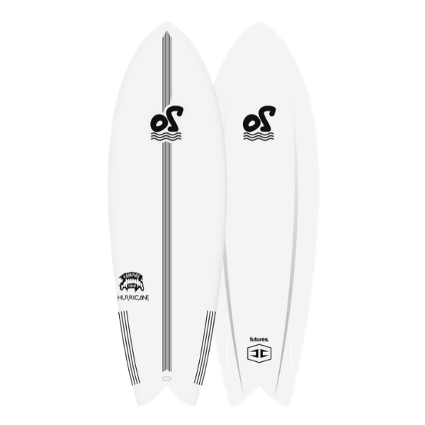 5'4'' Vampire Twin Soft Top Surfboard - 27L