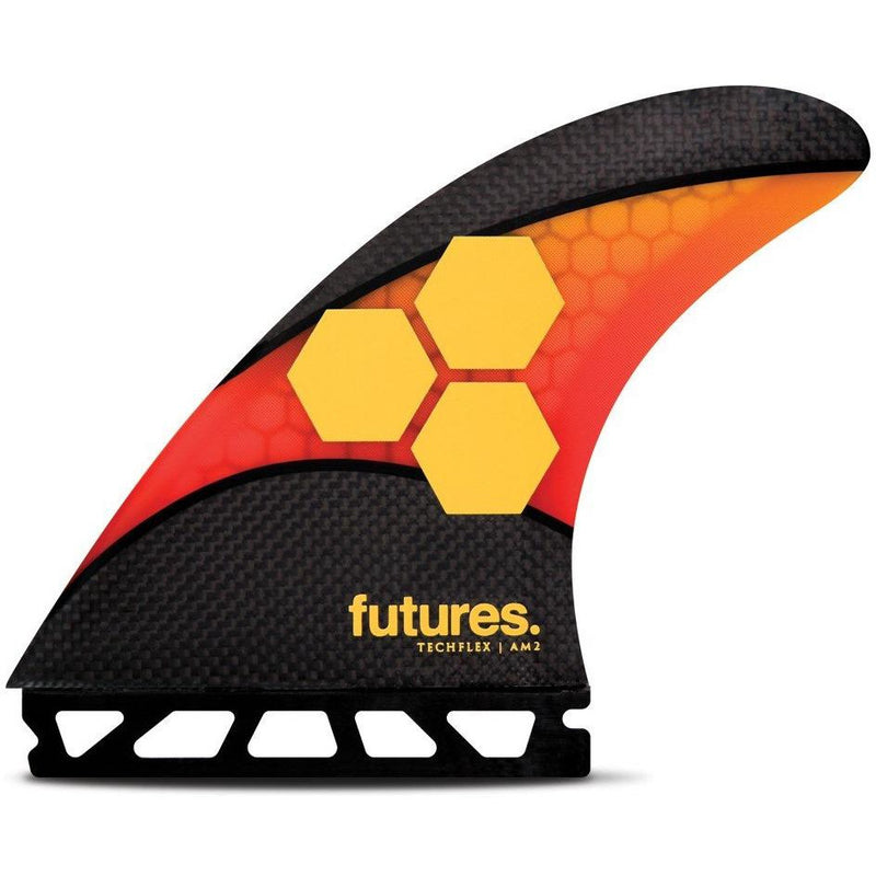 Futures - Techflex AM2 Thrusters (Orange/Red)