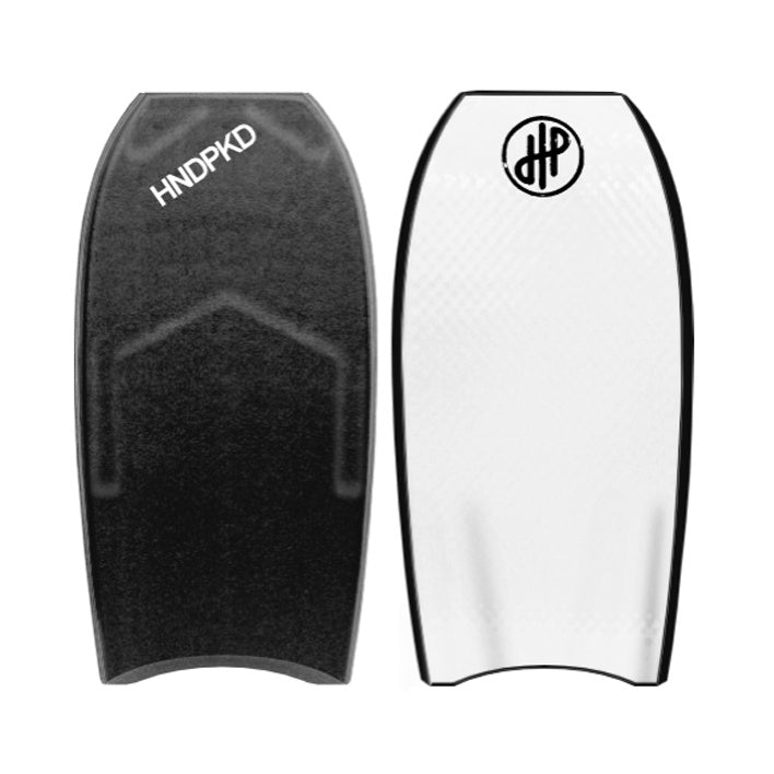 "HandPicked - 41.5"" Bodyboard (Black/White)"
