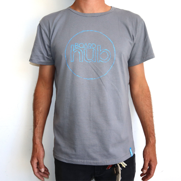 Boardhub - Logo Tee (Grey)