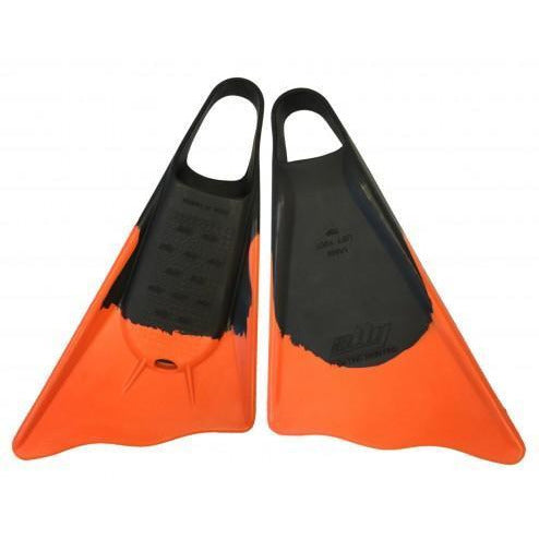 Ally - Bodyboard Fins - (Orange)