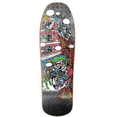"New Deal - Tricycle Kid 9.625"" Deck (Black/Fade)"