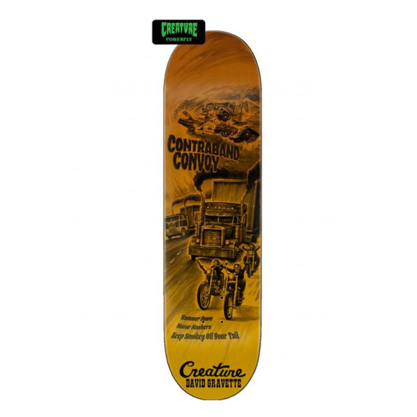 "Creature - Gravette Roadside Powerply 8.3"" Pro Deck"