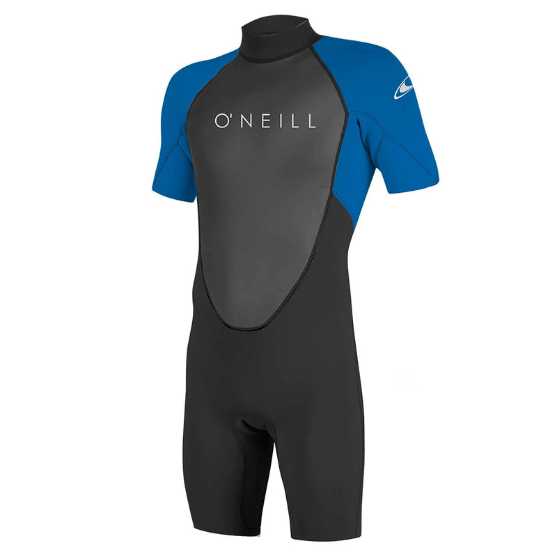 O'Neill - Youth Reactor 2mm S/S Spring Suit (Black/Ltaqua)