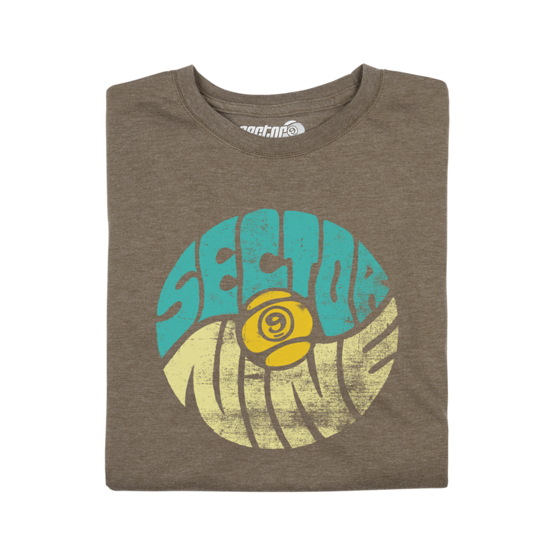Sector 9 - Balance Tee (Brown)