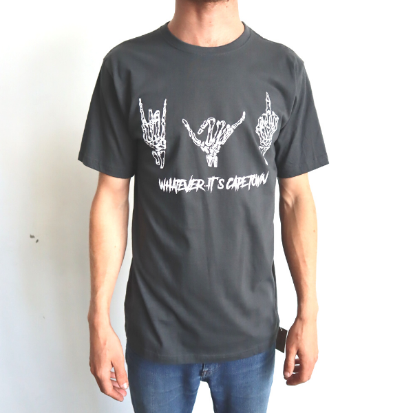 Boardhub - Whatever It's Cape Town Tee (Charcoal)