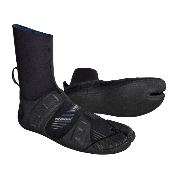 O'neill - Mutant 3mm Split Toe Booties (Black/Graphite)