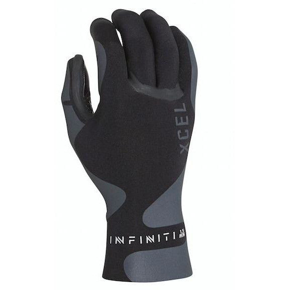 Xcel - 1.5mm Infiniti 5 Finger Glove (Black)