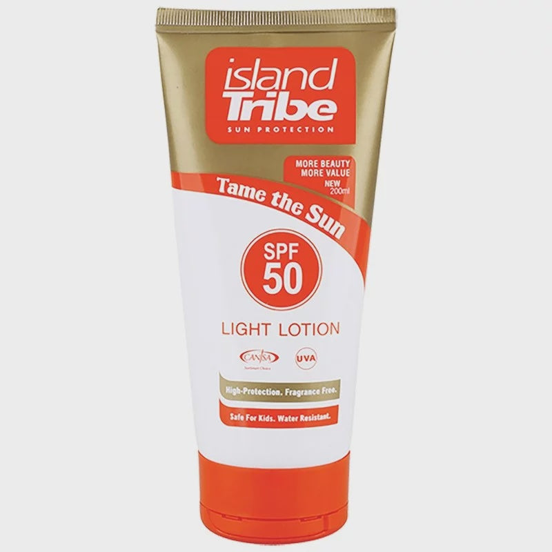 Island Tribe - SPF50 Light Lotion 200ml