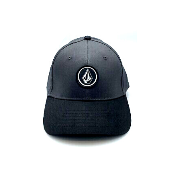 Volcom - V Quarter Stretch Fit Cap (Charcoal/Black)