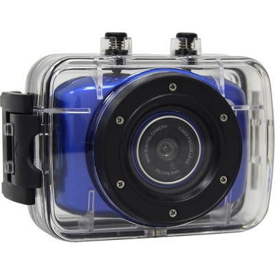 Volkano - LifeCam HD Action Camera - (Blue)