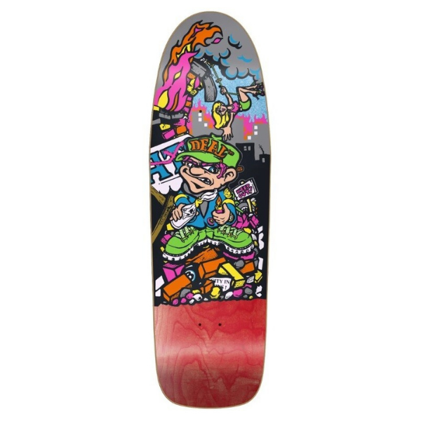"New Deal - Howell Molotov Kid 9.875"" Deck"