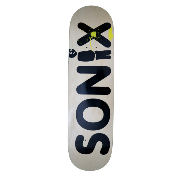 "Sonix - Naughty Boy 8.0"" Deck (Natural)"