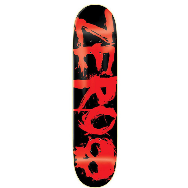 "Zero - Blood Red R7 8.0"" Deck"