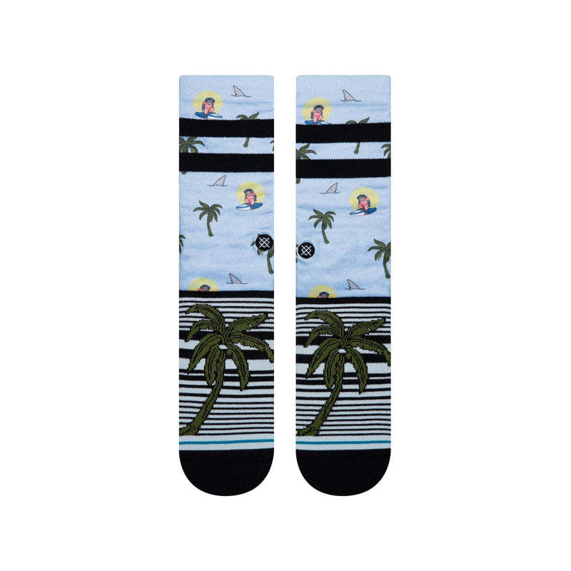Stance - Aloha Monkey ST (Light Blue)