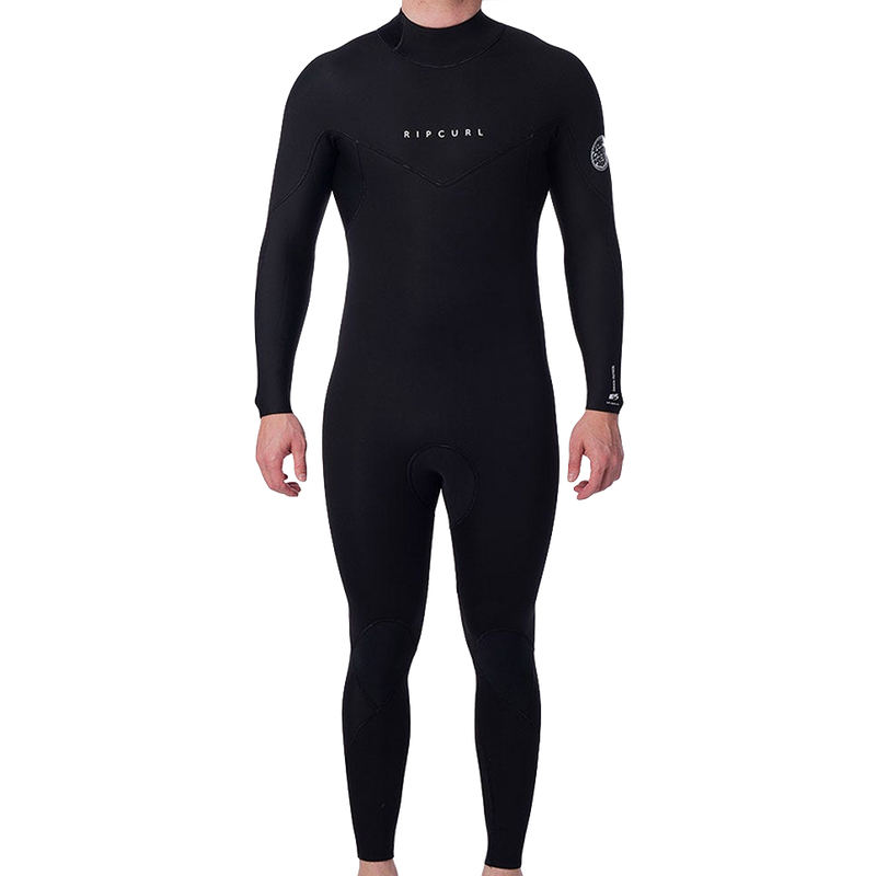 Rip Curl - Dawn Patrol 4/3mm Back Zip Steamer (Black)