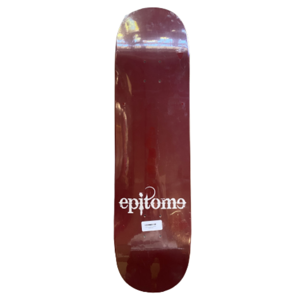 "Epitome - Gothic Red 8.5"" Deck"