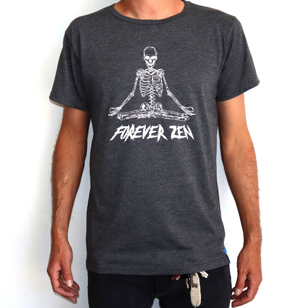 Boardhub - Forever Zen Tee (Dark Grey)