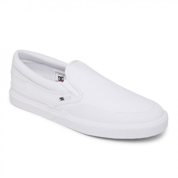 DC - Infinite Slip On (White/White/White)