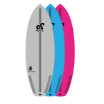 5'10'' Lil Ninja Performance Soft Top Surfboard - 40L