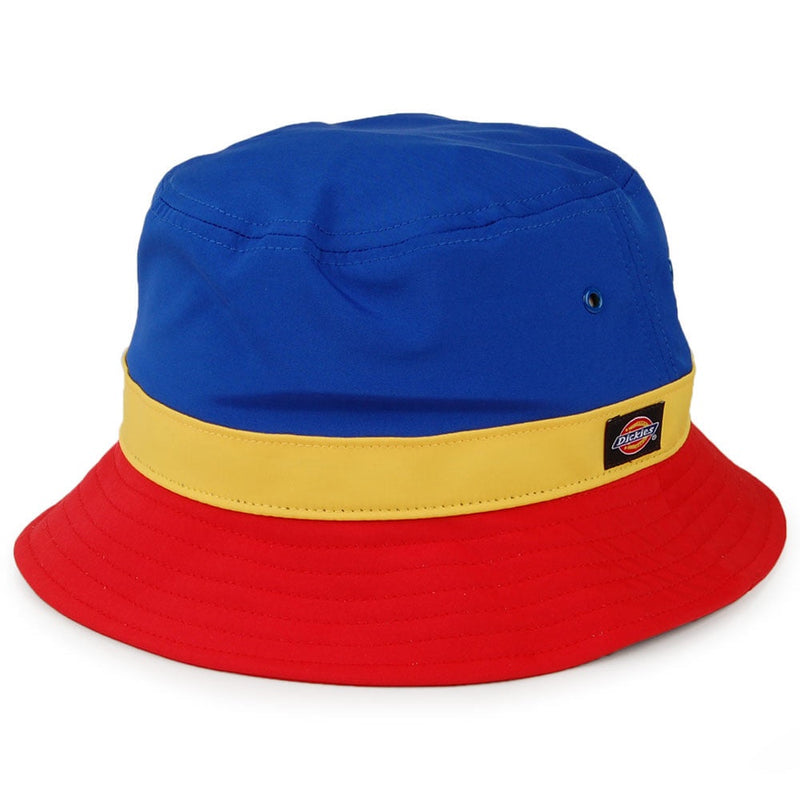 Dickies - Twin City Bucket Hat (Red/Mustard/Royal Blue)